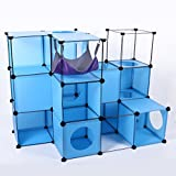 "SENSATIONAL NEW MAXI SIZE""KITTY CUBBY"" CAT ACTIVITY CENTRE/CAT TUNNEL CLIP TOGETHER FRAME ALLOWS YOU A MULTIPLE VARIATION OF SHAPES,WIPE CLEAN,ATTRACTIVE COLOURS,HOURS OF FUN FOR YOUR FURRY LOVED ONE,THIS ITEM HAS BEEN THOROUGHLY TESTED BY CAT BREEDERS BE"
