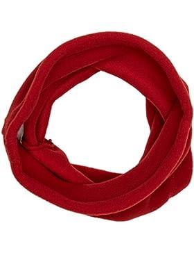Buff Braga de Cuello para Niños (Forro Polar), Color Rojo(Samba), Talla única