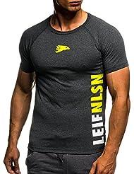 Leifheit Nelson Gym Fitness LN06279 - Camiseta de entrenamiento para hombre