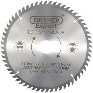 Draper Expert 09478 - Lama per sega circolare TCT, 210 x 30 mm, 60 denti