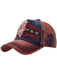 iParaAiluRy Gorra de Béisbol con Algodón Unisex Sombrero para Hombre y  Mujere - al Aire Libre Sombrero de Gorros de… 7b134e6b891