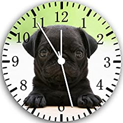 Reloj de pared carlino color negro