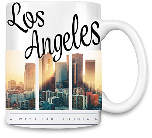 Los Angeles Always Take Fountain Kaffee - Angeles-becher Los