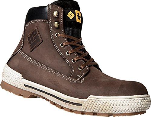 To Work For Bison S3Marron Chaussures de sécurité–Unisexe Marron - Marron