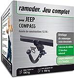 Rameder Attelage rotule démontable pour Jeep Compass + Faisceau 13 Broches...