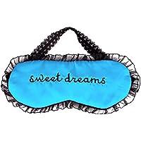 Premium Schlafmaske, Merssavo Süße Lace Augenmaske Reisen Schlafbrille Blau preisvergleich bei billige-tabletten.eu