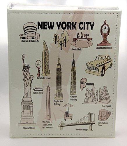 Fotoalbum, geprägt, Motiv New York City, für 200 Fotos, 10 x 15 cm