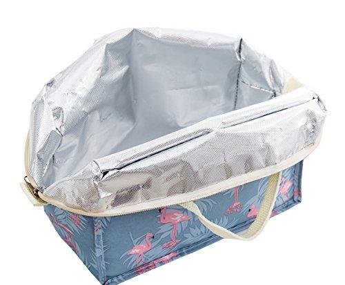 Borse Porta Pranzo Ufficio : Isuperb borsa porta pranzo termico borsa frigo pranzo lunch bag