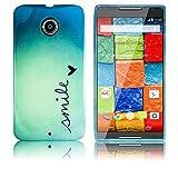 Motorola Moto X 2. Generation Silikon Schutz-Hülle Smile