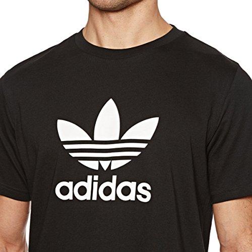 adidas Herren T-Shirt Trefoil Black