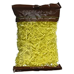 CelebrateExpress Shredded Paper - Yellow (1) Party Supplies
