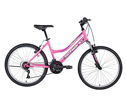 F.lli Schiano Integral Lady Shimano Vélo Femme, Violet/Bordeaux, Taille 20'