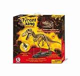 Geoworld 23211169 T-Rex - Esqueleto de dinosaurio para montar (54 piezas, 115 cm) [importado de Alemania]