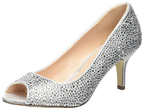 Pink by Paradox of London Adele, Bout Ouvert Femme - Or - Gold (Champagne), 42