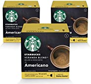 STARBUCKS Veranda Blend by NESCAFÉ Dolce Gusto Blonde Roast Coffee (3X12 Capsules)