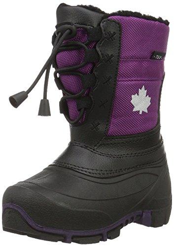 Canadians Allwetterstiefel, Bottes mi-hauteur avec doublure chaude fille Violet - Violett (880 Lt. Lilac)