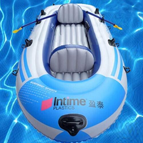 SHZJ Juego De Kayak Inflable para 4 Personas con 1 * Cuerda...