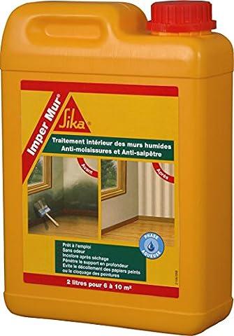 Sika Imper Mur 1308 Kunstharz für die Behandlung von Innenwänden, 2l