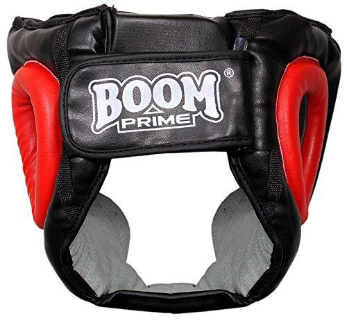 Boom aus reinem Leder Boxing Kopfschutz MMA Martial Arts Kick Boxen Abbildung 2