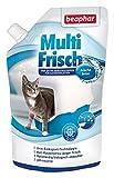 Multi recién Brisa | neutralizador de olores para gato nklos | alarga la vida útil de gato dispersa, aromas de brisa fresca, 400g