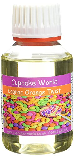 Cupcake World Intensiver Aromen  Weinbrand und Orangenschuss, 1er Pack (1 x 100 ml)