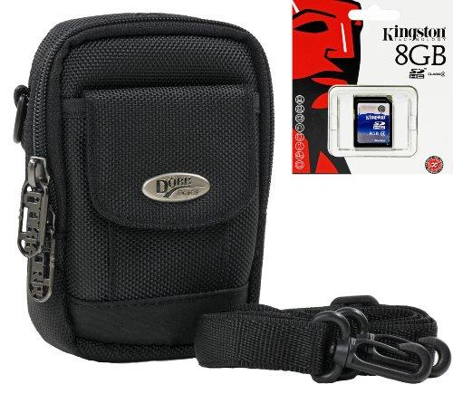Foto Kamera Tasche OUTDOOR Set mit 8 GB SD Speicherkarte