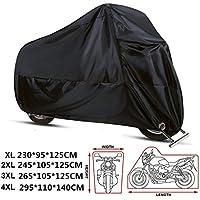 ANFTOP Funda Protector para Moto de 210D tela impermeable Cubierta para Moto / Motocicleta , Resistente