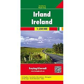 Irland, Autokarte 1:350.000: Wegenkaart 1:350 000 (freytag & berndt Auto + Freizeitkarten)