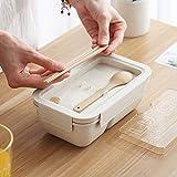 ZGY Kreatives Lunchpaket, Lunchpaket für europäische und amerikanische Studenten im japanischen Stil mit Besteckset für Mikrowellengeschenke