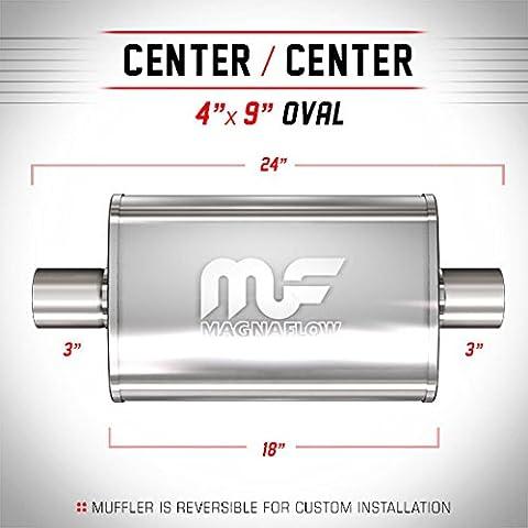 Magnaflow ingresso marmitta/Silenziatore ovale 3inch