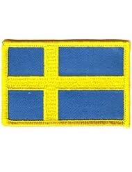 Flaggen Aufnäher Patch Schweden Flagge Fahne
