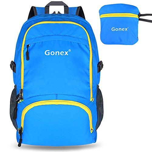 Gonex® 30L Ultra Ligero Mochila Plegable de Senderismo Excursión Deportes al aire libre / Bolsa de Viaje, Nylon Impermeable