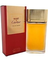 Cartier Must De Cartier Gold Edp, 1er Pack (1 x 100 ml)