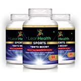 [Sponsored]Leanhealth Sports Testoboost Supplement 100% Natural (60 Capsules) (Pack Of 3)