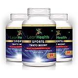 [Sponsored]Leanhealth Sports Testoboost Supplement 100% Natural (60 Capsules) (Pack Of 3)