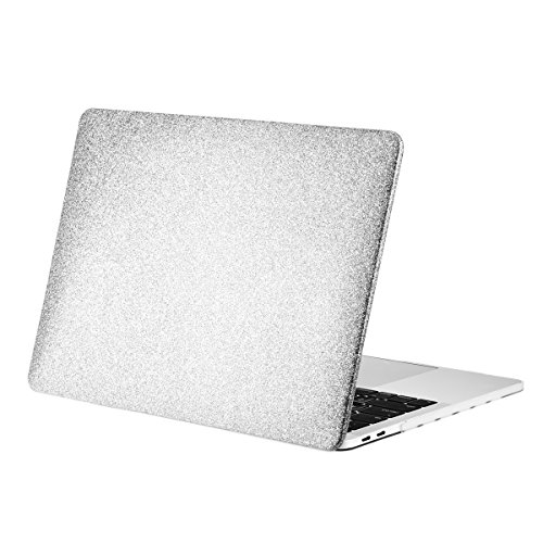 Top Fall - Bling Kristall Serie 2017/2016 MacBook Pro 33 cm Hard Case Cover Silber MacBook Pro 13 A1708/A1706 (2017/2016) Bling Hard Case Cover