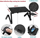 #9: laptop table for home laptop table for bed adjustable foldable laptop tables adjustable height laptop table big laptop table cooling fan laptop stand for office laptop stand for bed laptop stands laptop stand adjustable laptop stand with fan