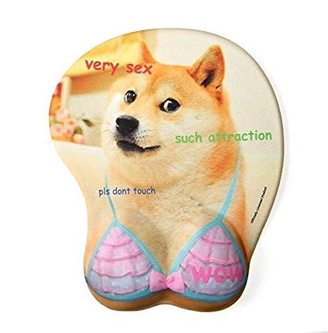 Doge Boob - Ergonomic Gaming Oppai Mousepad