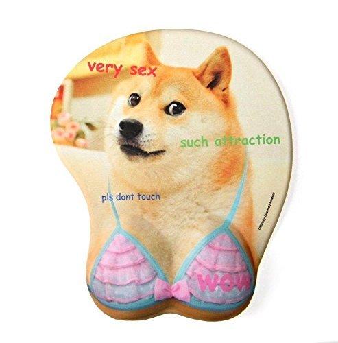 Preisvergleich Produktbild Doge BoobMauspad, ergonomische Form, Gaming, Oppai