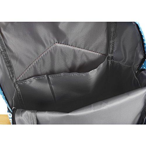 Rucksack Backpack Sport Gym Freizeit Schule universal Taschen dunkelblau blau