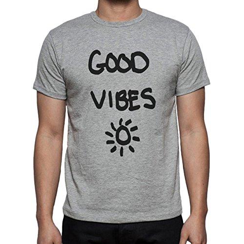 Good Vibes Herren T-Shirt Grau