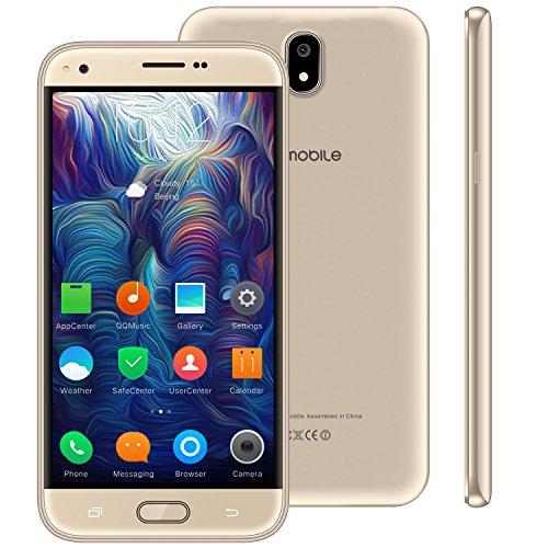 Telefono Móvil Doble Sim 4g,10Pcs 5.5 Pulgadas 16GB 5MP Cámara Android 7,0 2800mAh Batería Smartphone Barato Quad Core WIFI GPS Bluetooth V Mobile J5