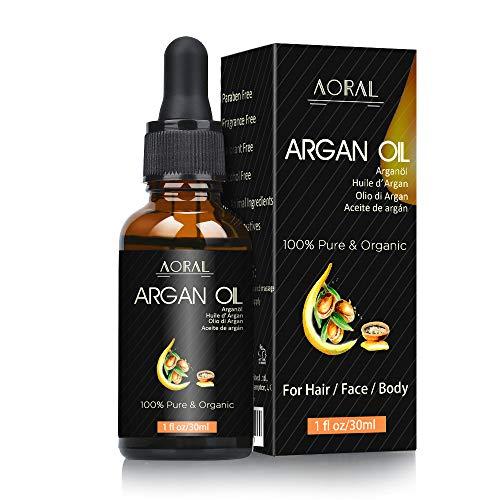 Arganöl, natürliche Anti-Aging-Feuchtigkeitscreme für Gesicht, Haare, Haut & Nägel, Männer und Frauen