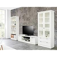 suchergebnis auf f r landhausm bel wei wohnw nde wohnzimmer k che haushalt. Black Bedroom Furniture Sets. Home Design Ideas
