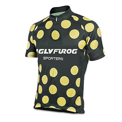 uglyfrog-uomini-traspirante-asciugatura-veloce-confortevole-maglia-manica-corta-top-full-zipper