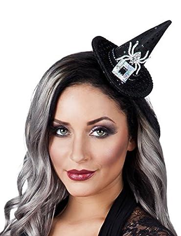 Halloween Mini-Hexenhut für Damen