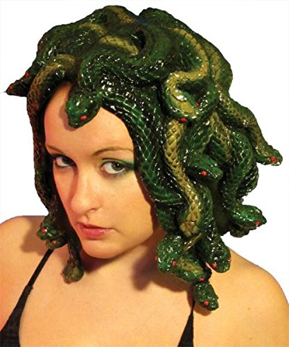 Medusa Perücke gemeißelt ()