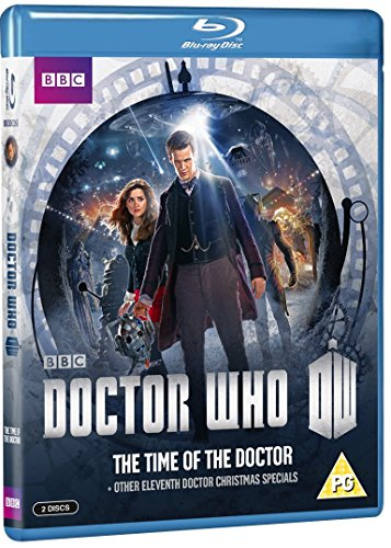 The Time of the Doctor & Other Eleventh Doctor Christmas Specials [Blu-ray]