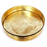 "De Kulture Workstm Brass Round Design Decorative Urli Floater 9"" For Home Decor Centerpiece"