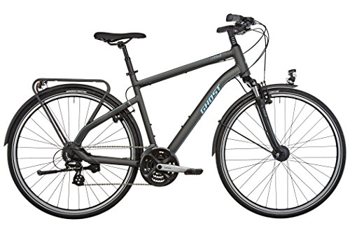 Ghost Square Trekking 1 black/lightblue 2017 Trekkingrad